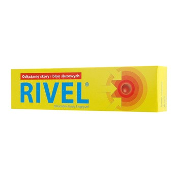 Rivel, 5 mg/g, żel, 30 g