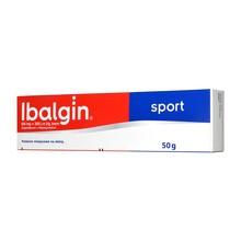 Ibalgin Sport, 50 mg+200 j.m./g, krem, 50 g