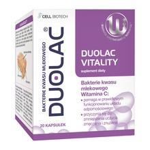 Duolac Vitality, kapsułki, 20 szt.