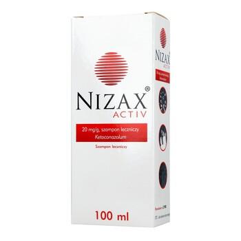Nizax Activ, (20 mg/g), szampon leczniczy, 100 ml