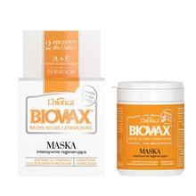 Biovax, intensywnie regenerująca maseczka do włosów suchych, zniszczonych, 250 ml