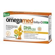 Omegamed Baby + D 6m+, kapsułki twist-off, 30 szt.