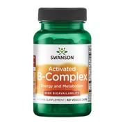 Swanson Activated B-Complex, kapsułki, 60 szt.
