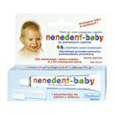 Nenedent Baby, pasta do zębów bez fluoru, 20 ml + szczoteczka