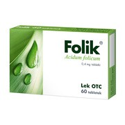 Folik, 0,4 mg, tabletki, 60 szt.