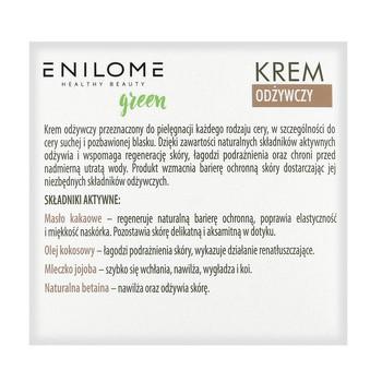 Zestaw Enilome Green Bazowa odżywcza pielęgnacja twarzy