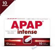 Apap intense, 200 mg + 500 mg, tabletki powlekane, 10 szt.