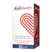 KaliCard+, kapsułki twarde,  50 szt.