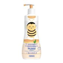 Mustela Ula-Pszczółka, odżywczy żel do mycia z Cold Cream, 500ml