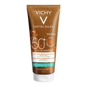 Vichy Capital Soleil, mleczko do opalania SPF 50+ z kwasem hialuronowym, 200ml