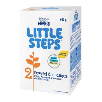 Nestle Little Steps 2, mleko następne dla niemowląt po 6 miesiącu 600 g