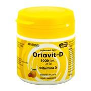 Oriovit-D 1000 j.m., 25 µg, tabletki do żucia,  30 szt.