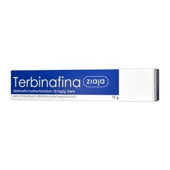 Terbinafina Ziaja, 10 mg/g, krem, 15 g