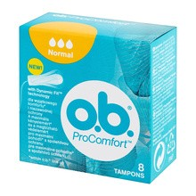 Tampony OB Pro Comfort, normal, 8 szt.