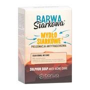 Barwa Siarkowa, mydło siarkowe antytrądzikowe, 100 g