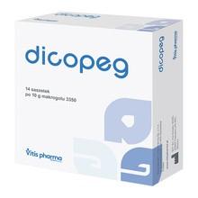 Dicopeg, proszek do sporządzania roztworu doustnego, 10 g, 14 saszetek