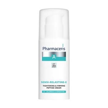 Pharmaceris A Sensi-Relastine-E, peptydowy krem napinająco-ujędrniający, SPF 20, 50 ml