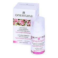 Orientana, naturalny krem pod oczy regenerująco-odmładzający, 15 ml