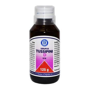 Sirupus Tussipini D, syrop dla dzieci, 125 g