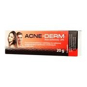 Acne-Derm, krem przeciwtrądzikowy i wybielający, 20 g