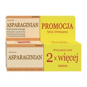 Asparaginian Magnez Potas, tabletki, 100 szt. (Uniphar)