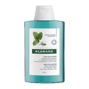 Klorane Anti-Pollution, detoksykujący szampon na bazie mięty nadwodnej, 200 ml