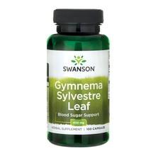 Swanson Gymnea Sylvestre, 400 mg, kapsułki, 100 szt.