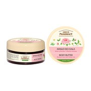 Green Pharmacy, masło do ciała, róża piżmowa i zielona herbata, 200 ml