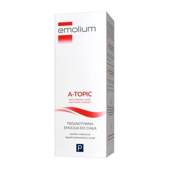 Emolium A -Topic, trójaktywna emulsja do ciała, 200 ml