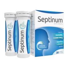 Septinum, tabletki do ssania na kaszel i chrypkę, 30 szt.