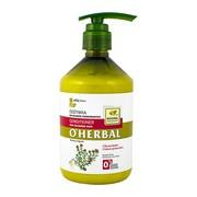 O`Herbal, odżywka do włosów farbowanych, ekstrakt z macierzanki tymianku, 500 ml