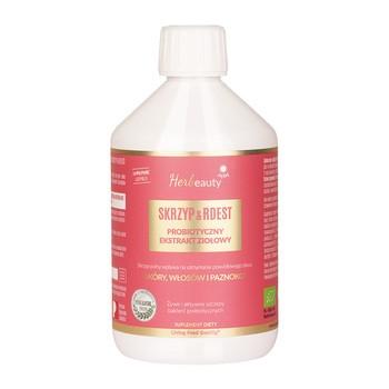 EKO Probiotyczny ekstrakt ziołowy Herbeauty Joy Day Skrzyp & Rdest, płyn, 500 ml