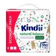 Cleanic Kindii Natural Balance, chusteczki dla niemowląt i dzieci, 6 x 60 szt.