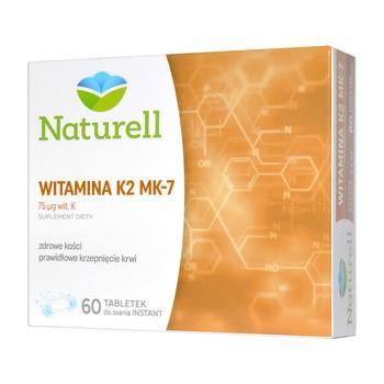 Naturell Witamina K2 MK-7, tabletki do ssania, 60 szt.