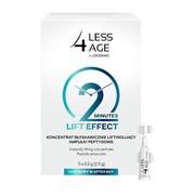 Less 4 Age, koncentrat błyskawicznie liftingujący, 0,5 g, 5 ampułek peptydowych