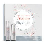 Zestaw Promocyjny Avene Physiolift, balsam wygładzająco-regenerujący na noc, 30 ml + krem do pielęgnacji skóry wokół oczu, 15 ml