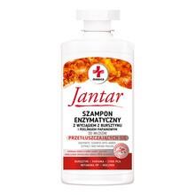 Jantar Medica, szampon enzymatyczny z wyciągiem z bursztynu i peelingiem do włosow przetłuszczających się, 330ml