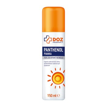 DOZ PRODUCT, Panthenol pianka 10% Dexpanthenolu, 150 ml