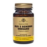 Solgar Olej z dzikiego oregano, kapsułki, 60 szt.