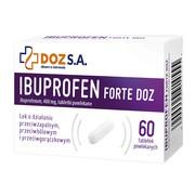 Ibuprofen Forte DOZ, 400 mg, tabletki powlekane, 60 szt.