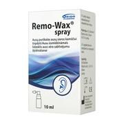 Remo-Wax spray, aerozol do usuwania woskowiny usznej, 10 ml