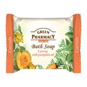 Green Pharmacy, mydło w kostce, marchew i olej z nasion dyni, 100 g