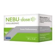Nebu-Dose Hialuronic, roztwór do inhalacji, 30 ampułek