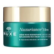 Nuxe Nuxuriance Ultra, kompleksowy krem przeciwstarzeniowy przywracający skórze gęstość, o bogatej konsystencji, 50 ml