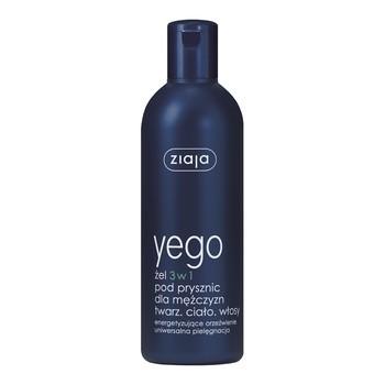 Ziaja Yego, żel pod prysznic dla mężczyzn 3 w 1, 300 ml
