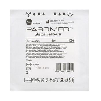 Gaza jałowa, 13 nitkowa, 1 m2, 1 szt. (Paso)