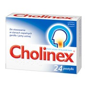 Cholinex, 150 mg, pastylki do ssania, 24 szt.