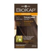 Biokap Nutricolor, farba do włosów, 5.0 jasny brąz, 140 ml