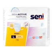 Seni Active Normal, elastyczne majtki chłonne, rozmiar L, 10 szt.