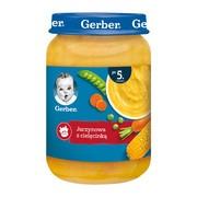 Gerber, jarzynowa z cielęcinką, 5 m+, 190 g